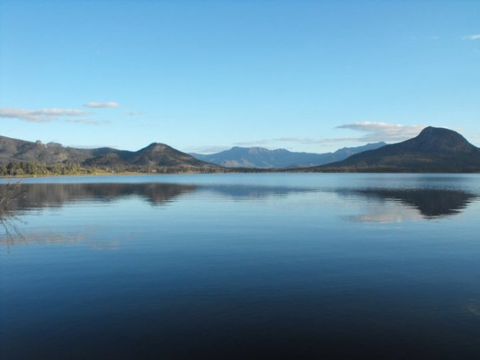 Lake Moogerah - blue