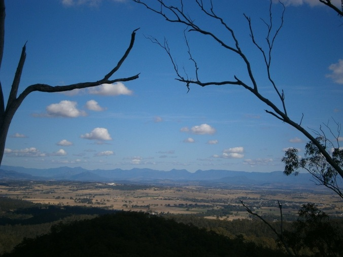 View of the Scenic Rim