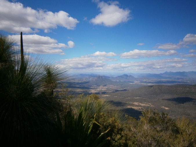 View from Mt Cordeaux