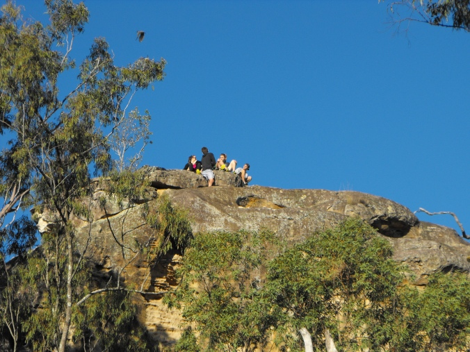 Local Indigenous groups ask walkers to refrain from climbing to the top of White Rock, but many people either ignore or don't know about their wishes.