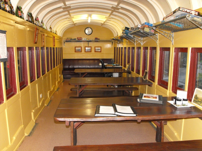 Railway Carriage Dining Hall