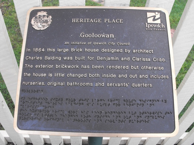 Gooloowan House Sign