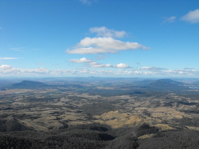 View from Mt Cordeaux 9