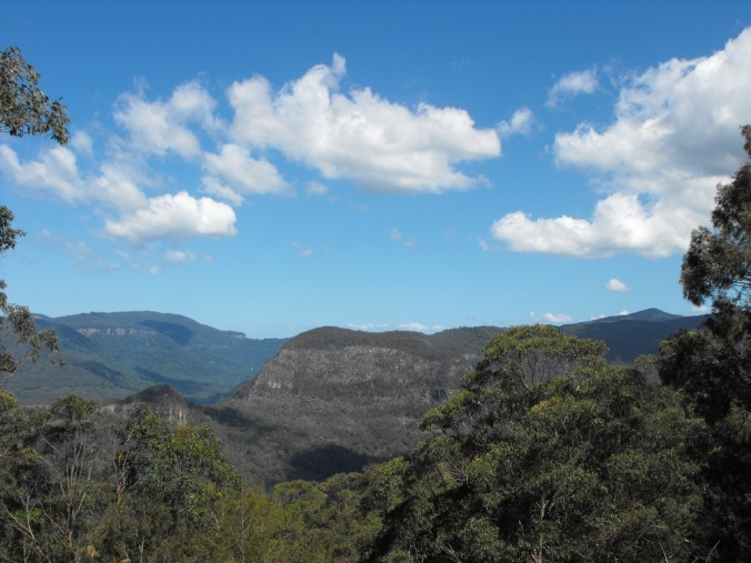 Views of Lamington National Park.