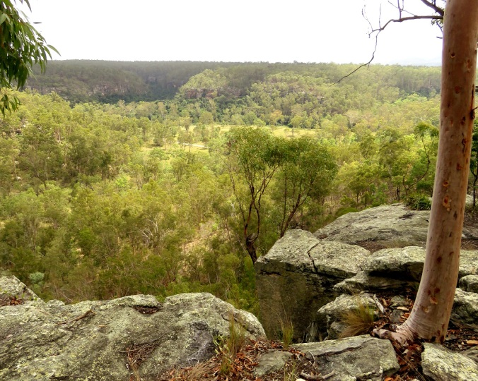 Giants Chair Lookout - Cania Gorge 1