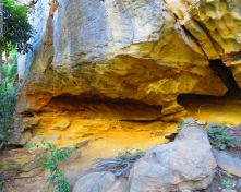 Sandstone Caves - Cania Gorge