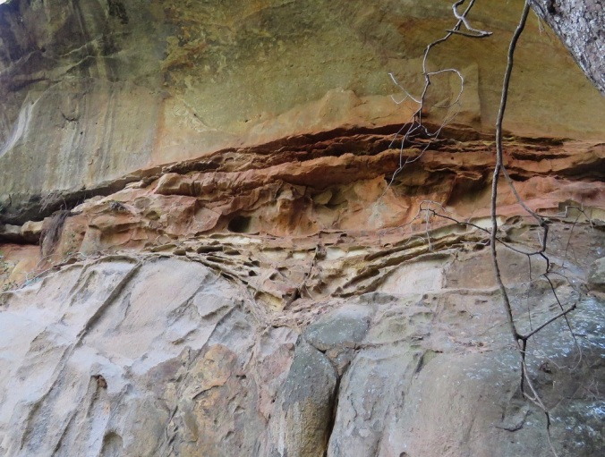 Rock patterns - Cania Gorge