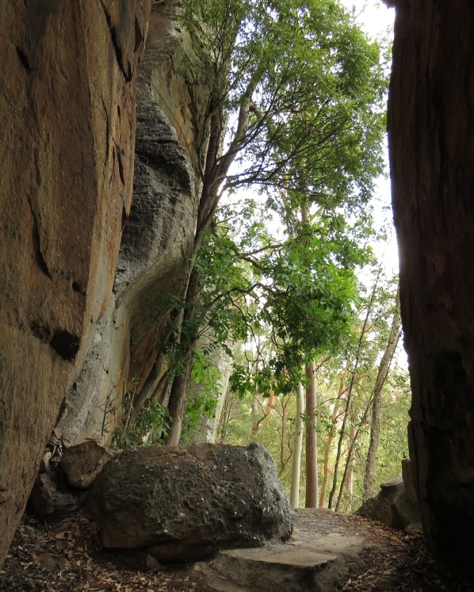 Two Storey Cave Track - Arch - Cania Gorge