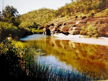 Porcupine Gorge creek - Queensland
