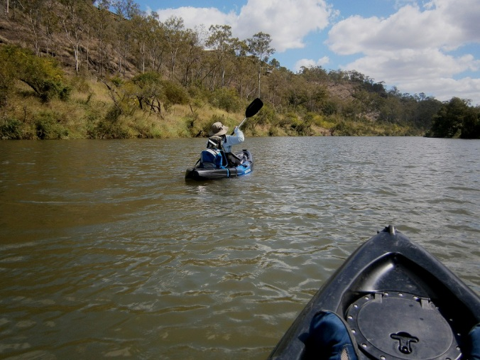Brisbane River - Jane Kayaking
