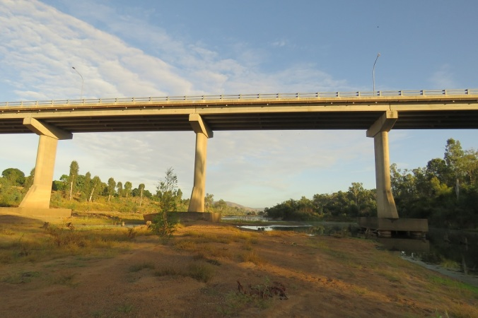 Bridge over Burnett River