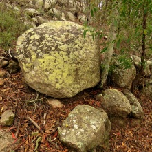 Crows Nest boulders