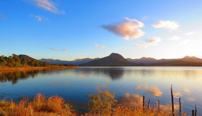 Lake Moogerah view