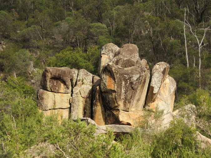Rock formations in Valley