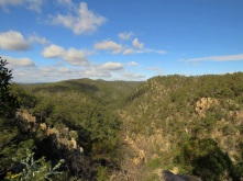 Valley of Diamonds lookout view